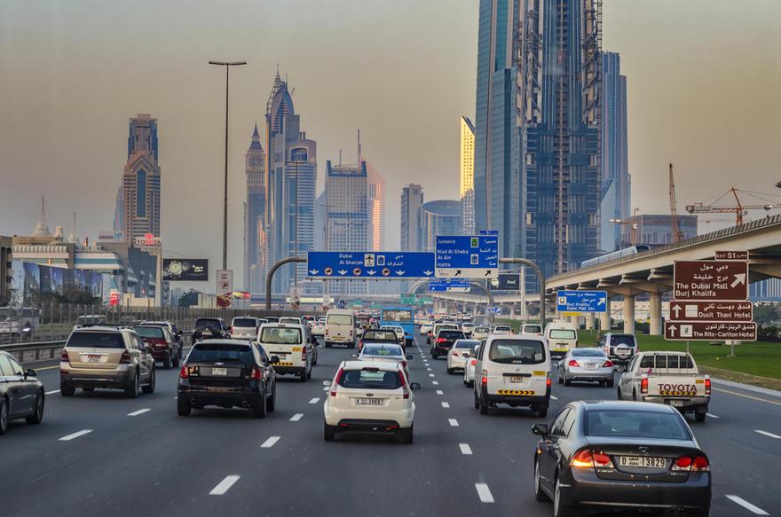 استعلام ودفع المخالفات المرورية دبي