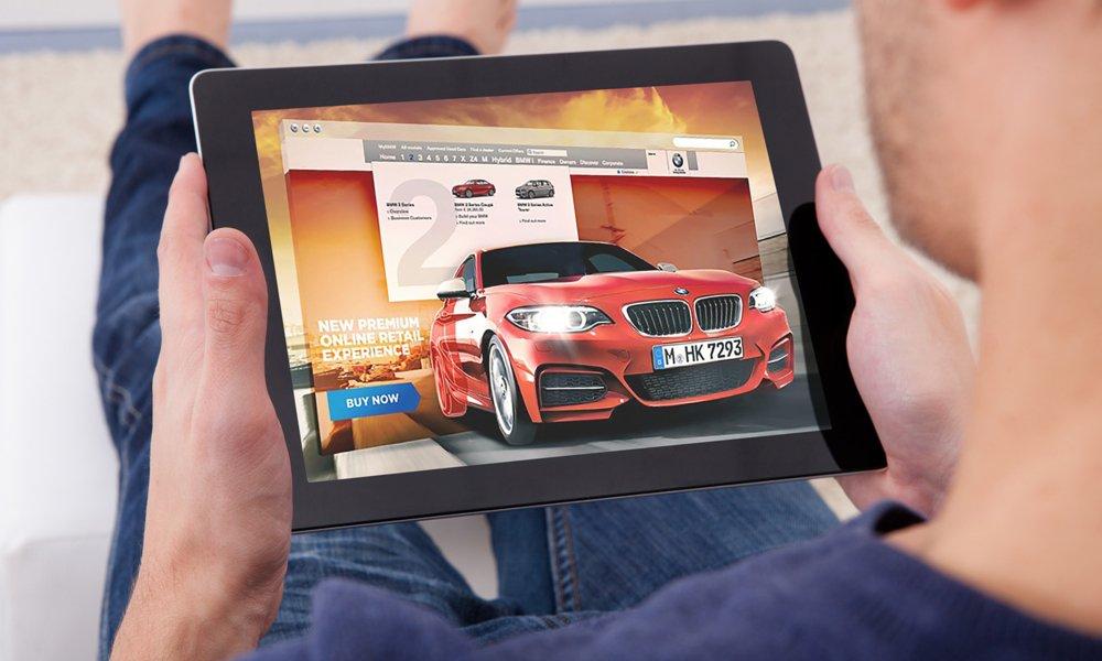 شراء سيارة عبر الانترنت