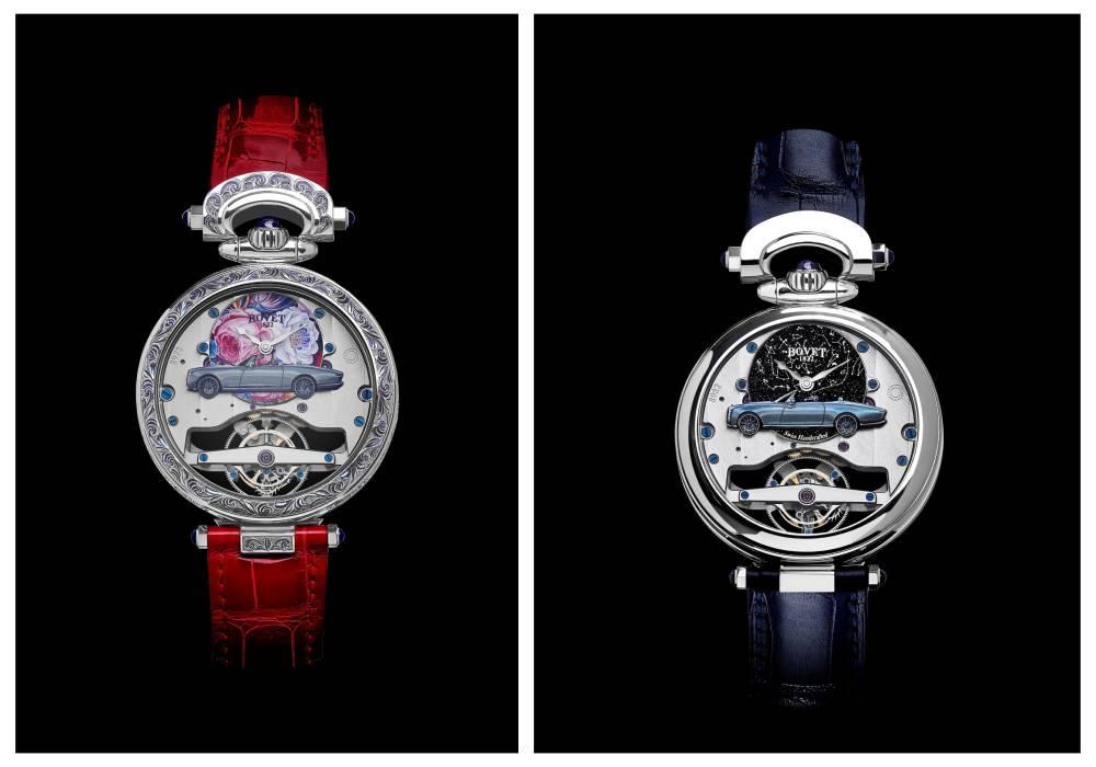ساعة في غاية الروعة من بوفية 1822 تنمزج بفخامة رولز رويس بوت تايل الرائعة صورة 2