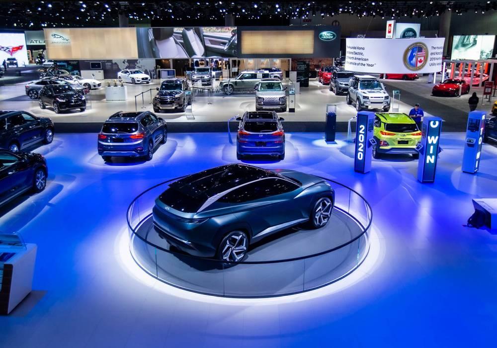 معرض لوس انجلوس للسيارات 2021