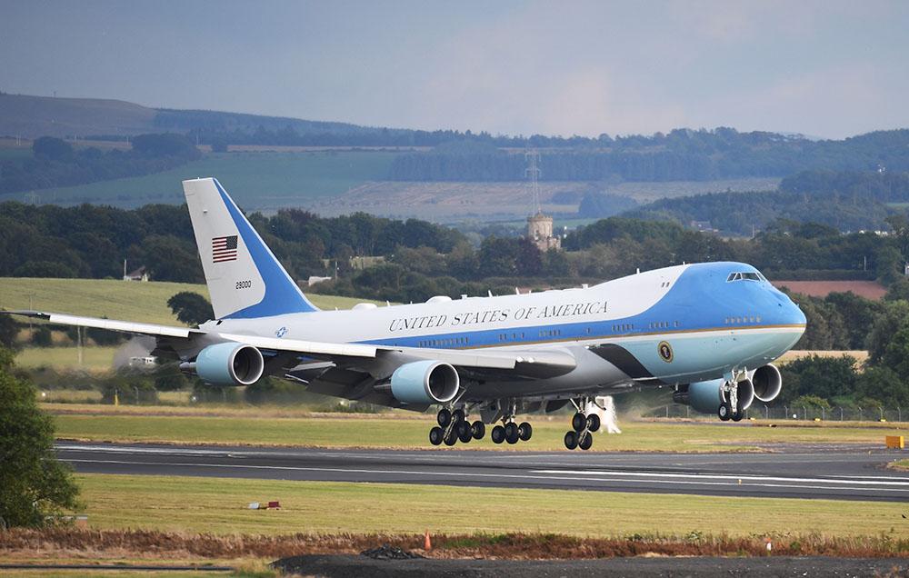 طائرة الرئيس الأمريكي