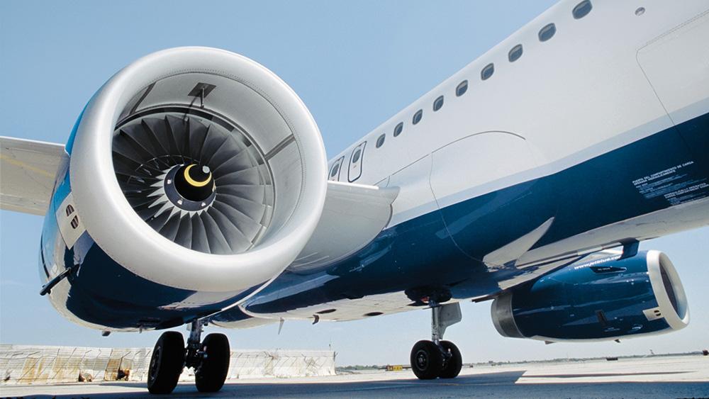 محرك طائرة