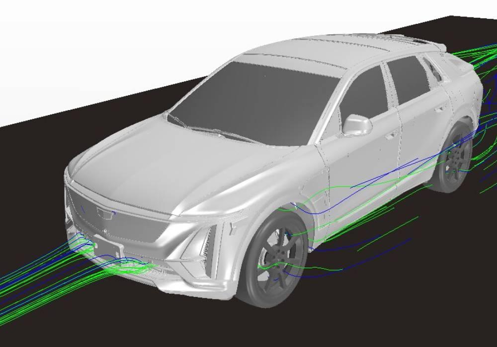 تسارع تطوير كاديلاك LYRIQ باعتماد عمليات الاختبار والمصادقة الافتراضية صورة 1