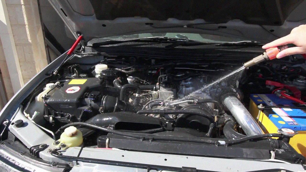 غسيل المحرك