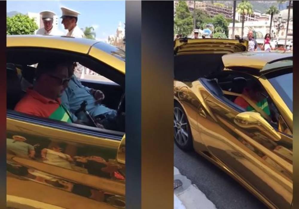 سيارة الأمير خالد بن سعود بن مساعد