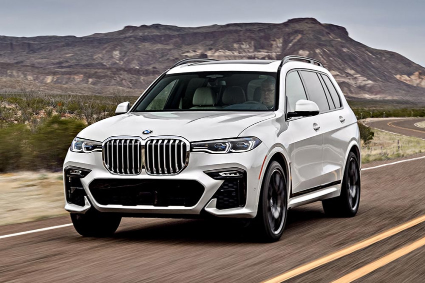 the first ever bmw x7