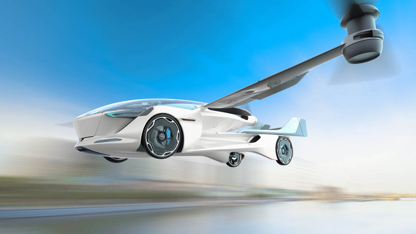 هذه هي أول سيارة طائرة تقلع عمودياً وكهربائية في العالم