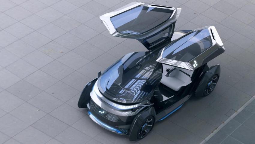 إطلاق أول سيارة إماراتية كهربائية ذاتية القيادة!