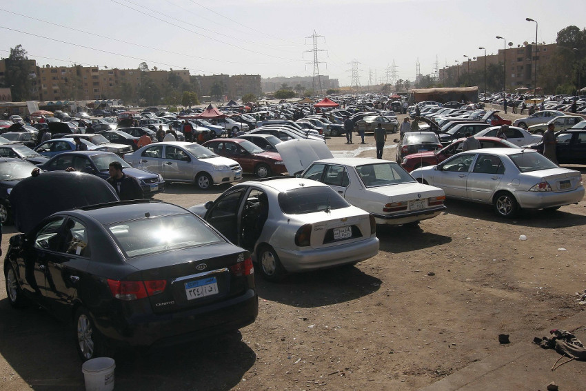 79 125220 car market nasr city egypt 2